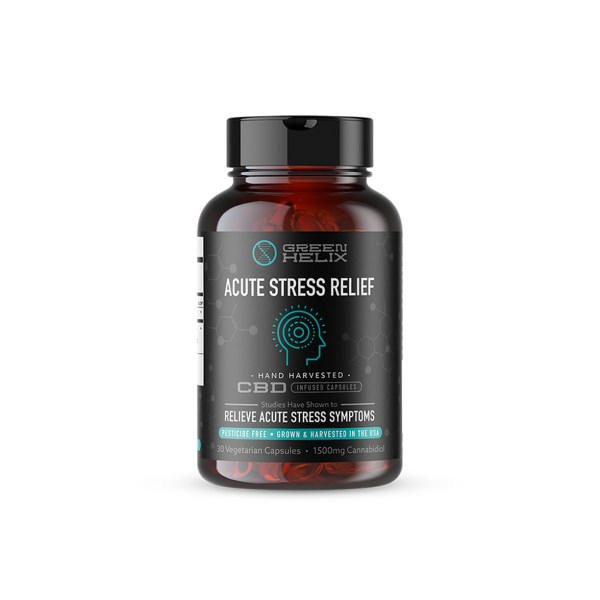 Green Helix Acute Stress Relief Capsules
