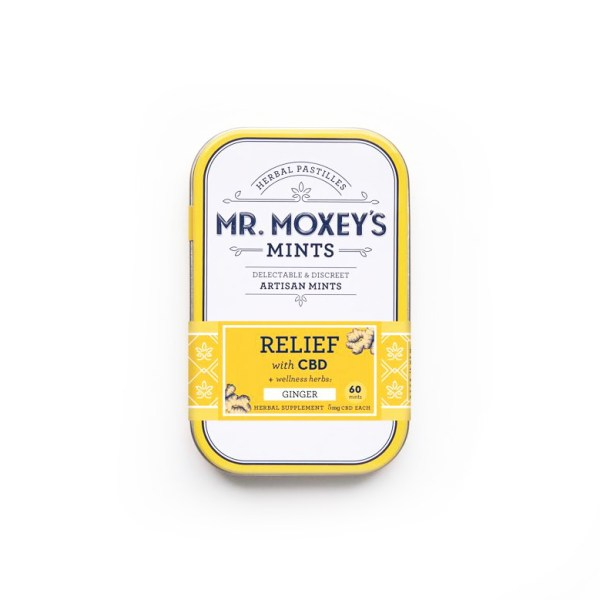 Mr. Moxey's Relief Ginger 5mg