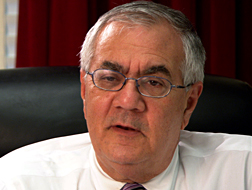 Barney Frank, the best-known openly gay member of Congress