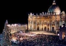 Midnight Mass in St. Peter's Basilica