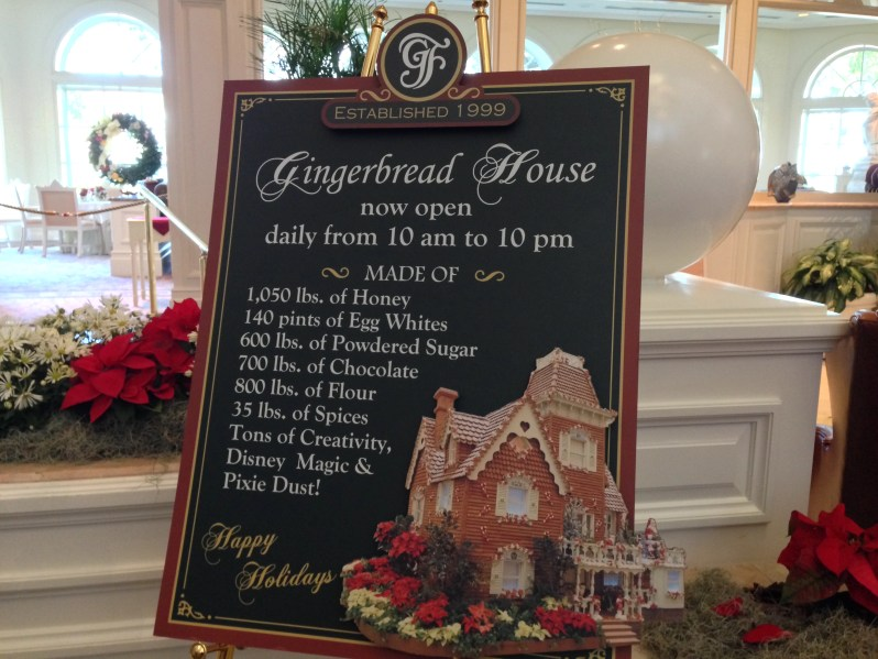 Recipe for Gingerbread house