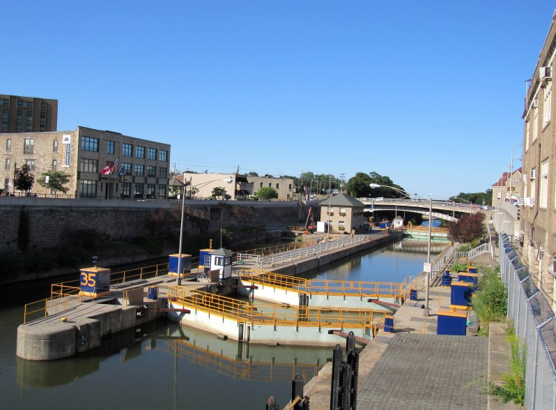 Erie Canal lock 35