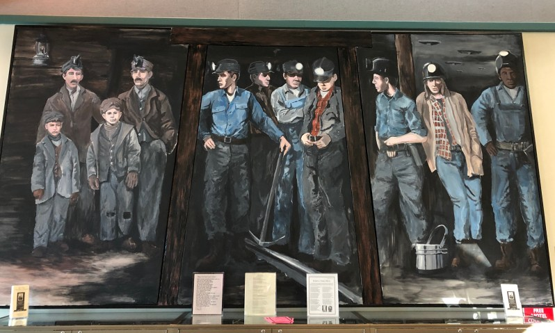 Miners Mural