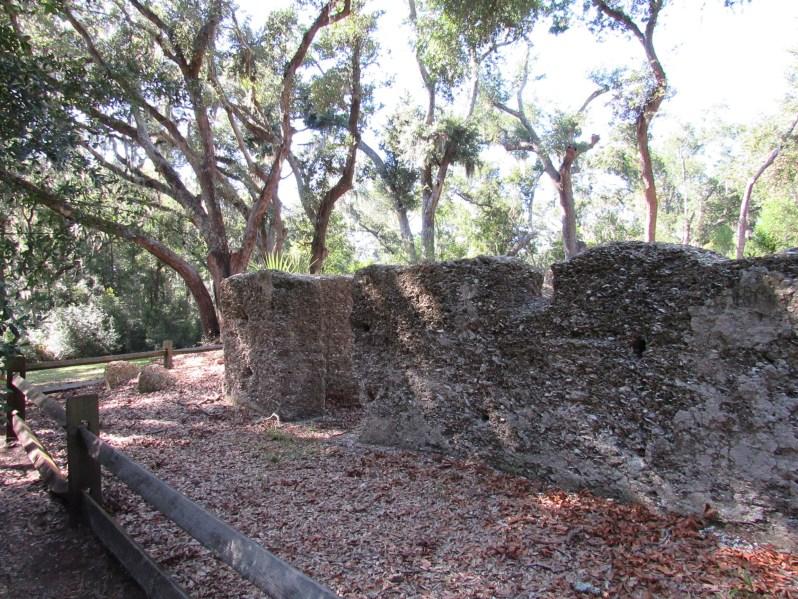 Plantation house ruins