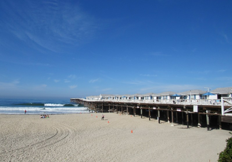 Pacific Beach=Crystal Pier