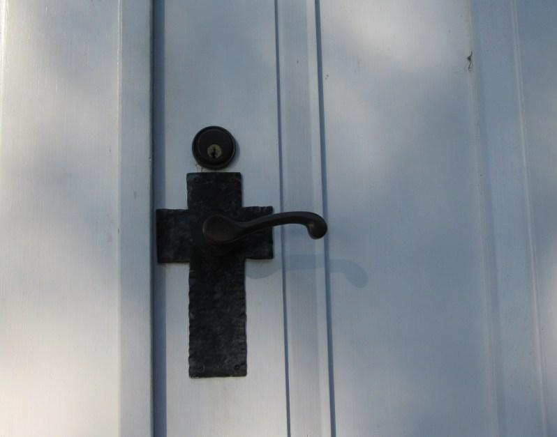 Church door handle