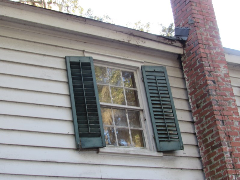 Window in 1850 house