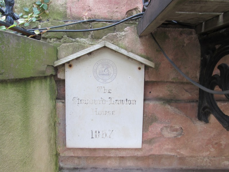 Stoddard Lawton House Historical Marker
