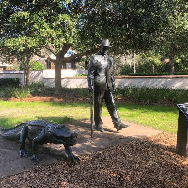 Compass Park Statue