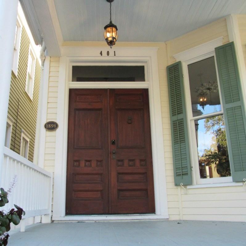 Historic home front door