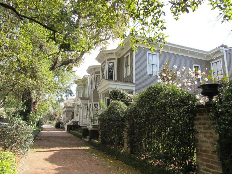 Savannah Brick sidewalks