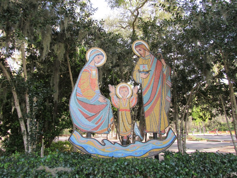 Mosaic of the Holy Family