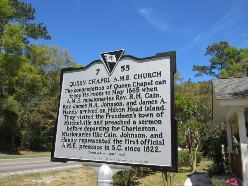 Historic Marker Queen Chapel A.M.E. Church