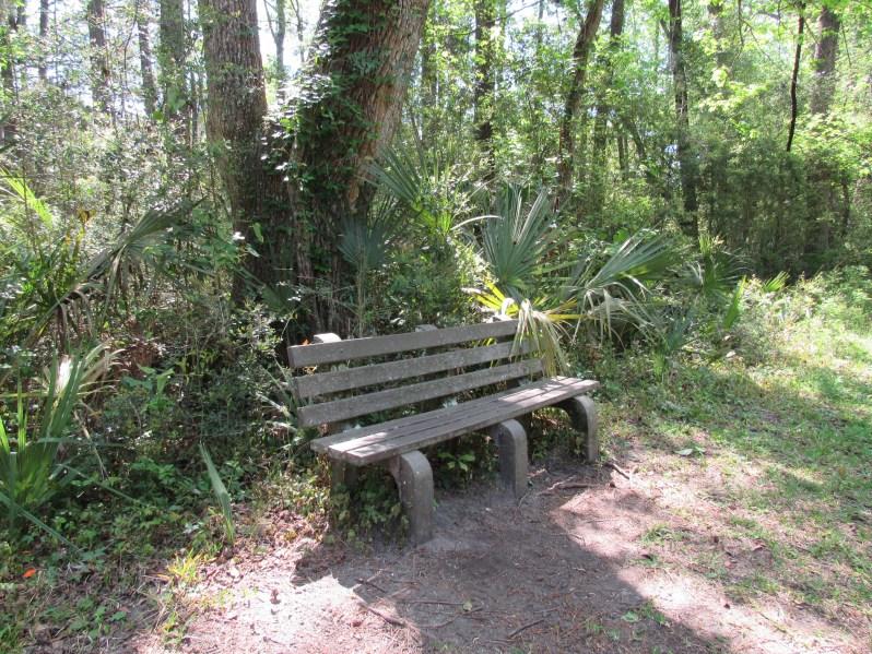 Rest stop Pinckney Island