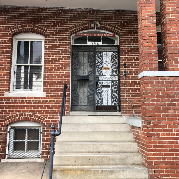 Rectory wrought iron door