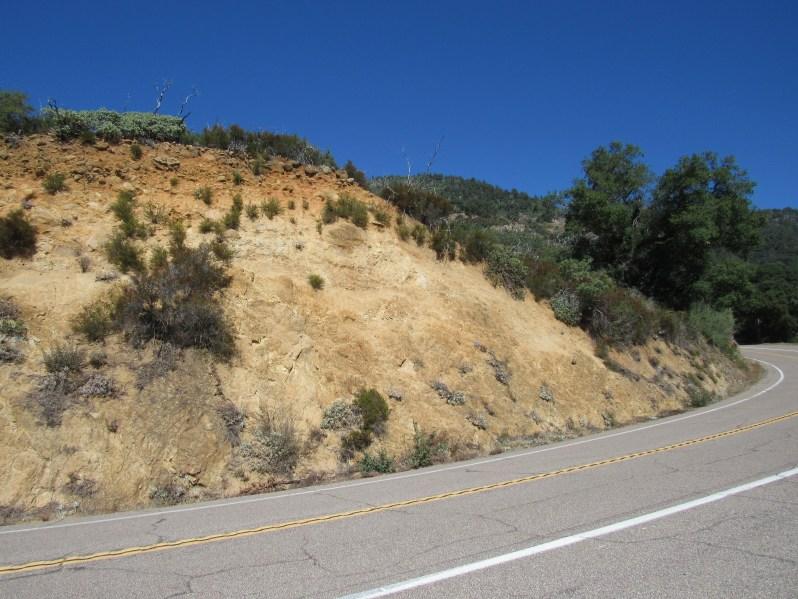 California Mountain Road