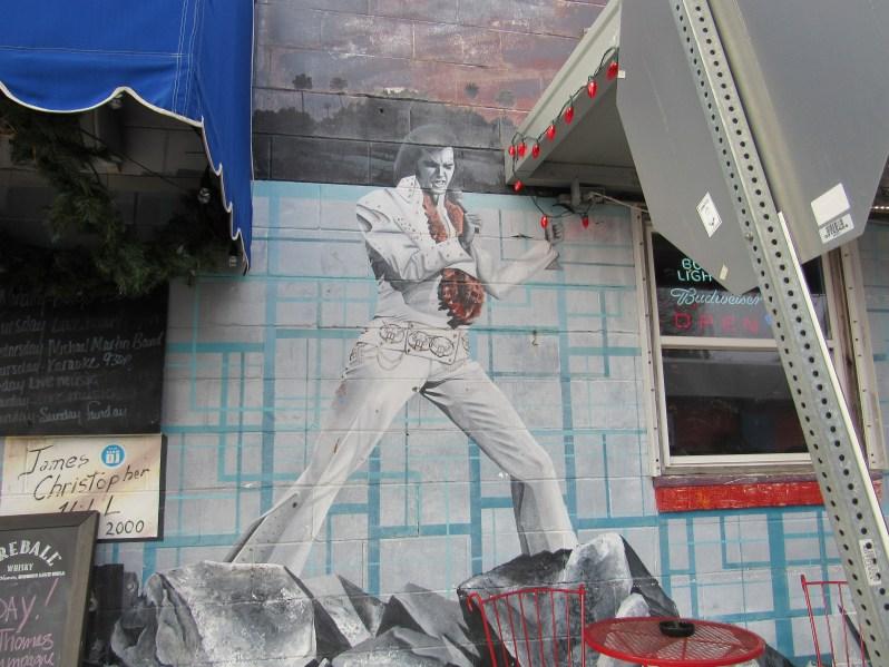 Elvis Mural