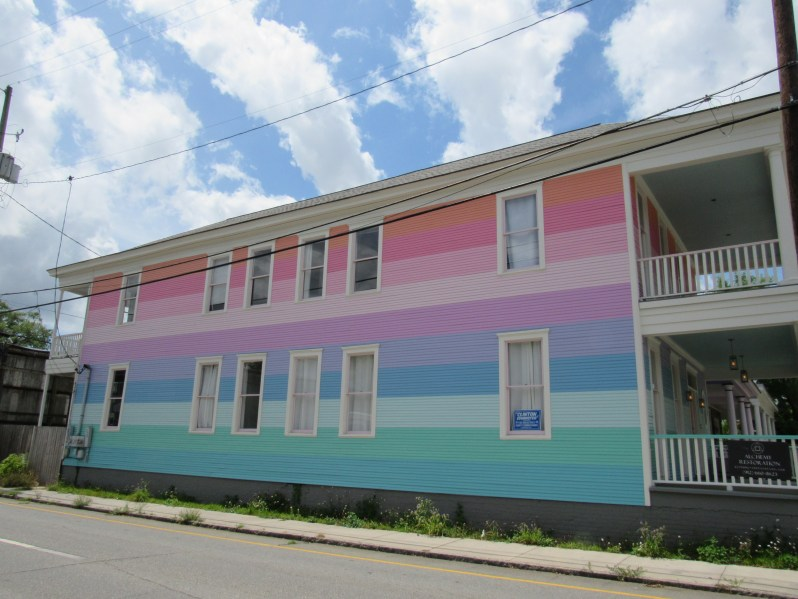 Colorful house in Savannah