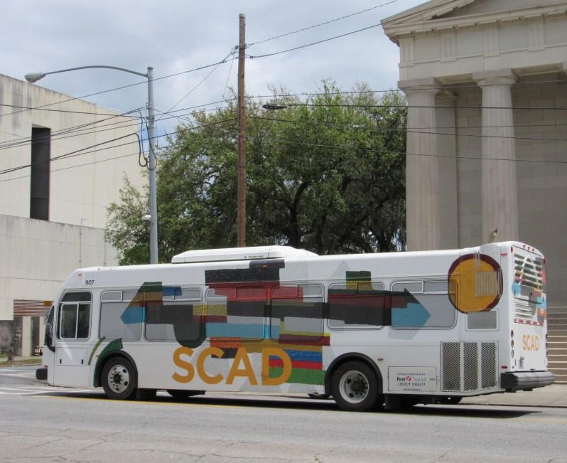 SCAD student bus