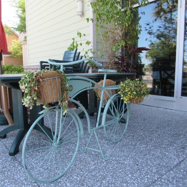 Bike flower baskets