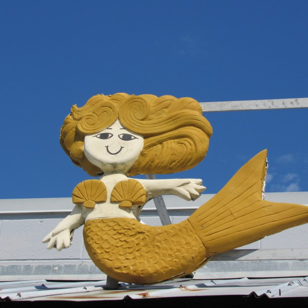 Sun gold mermaid