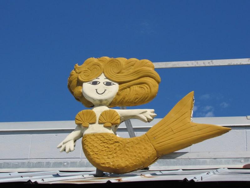 Sun gold mermaid