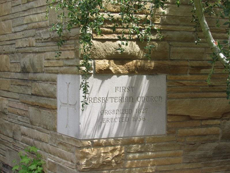 Church corner stone