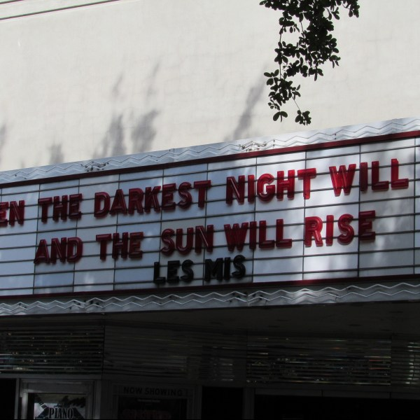 Savannah Theater Marquee
