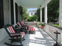 Southern home porch