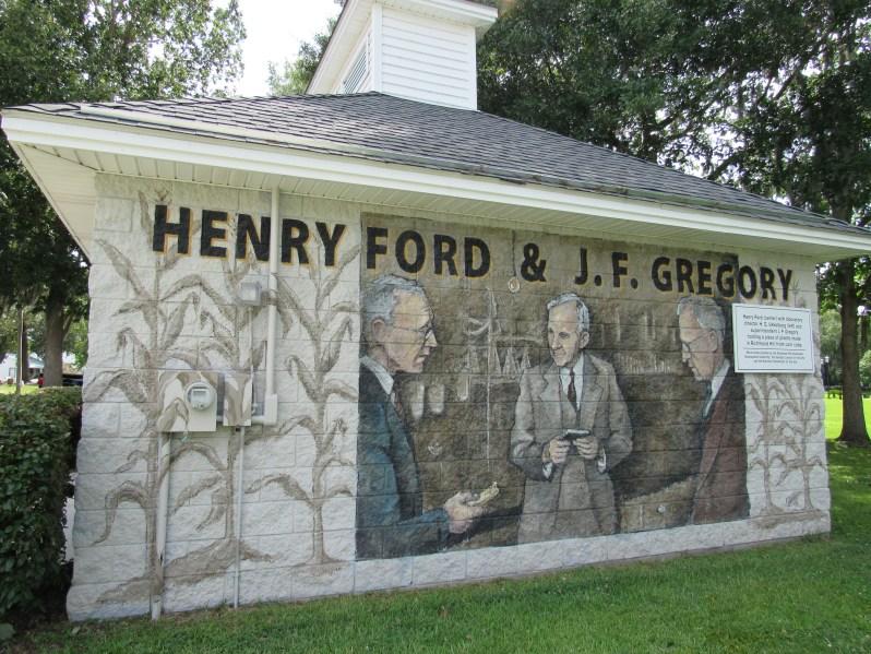 Henry Ford Mural