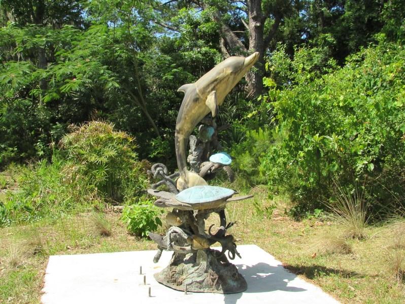 Sea Turtles Sculpture