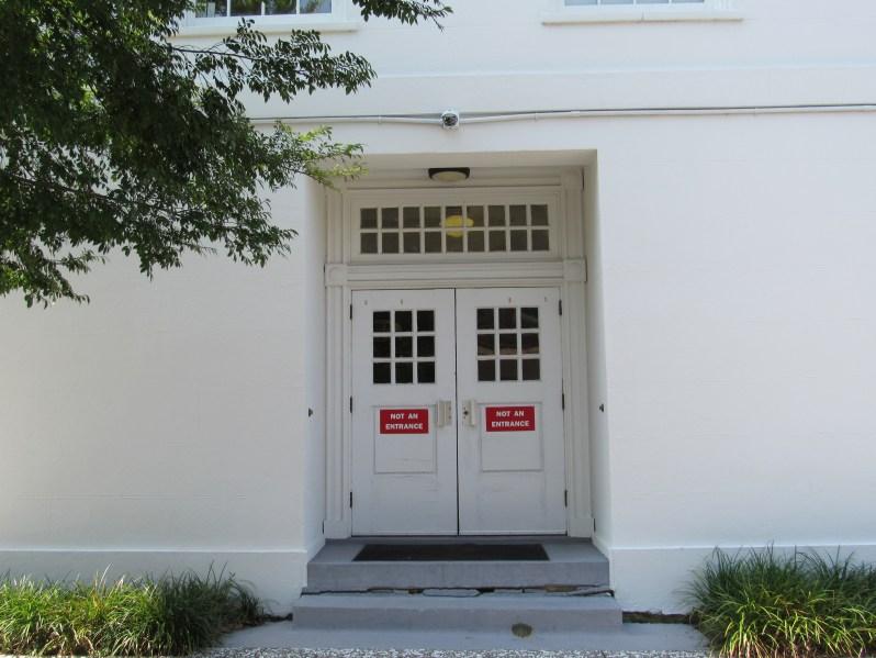 Not an entrance