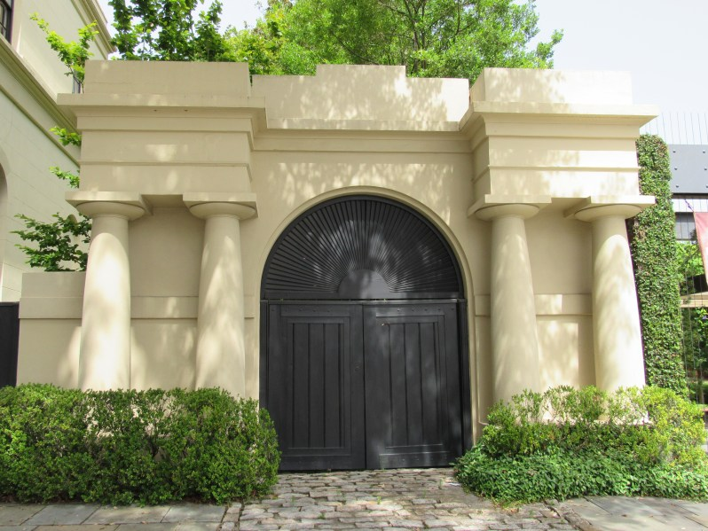 Arch topped doors