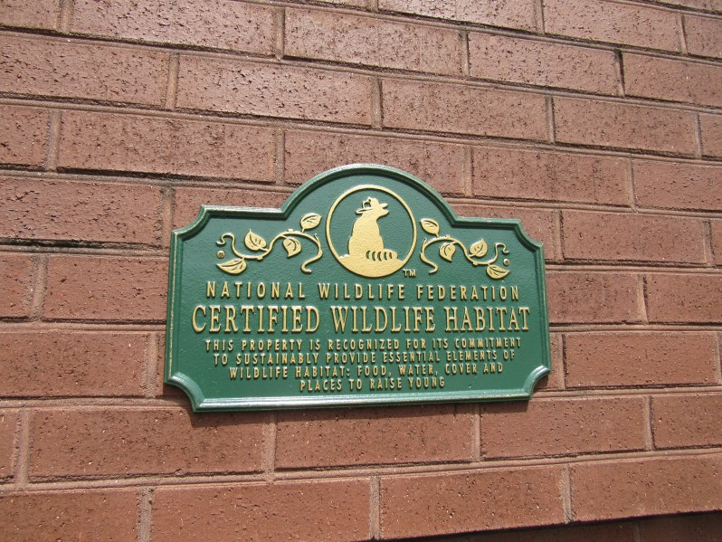 Wildlife Habitat Marker