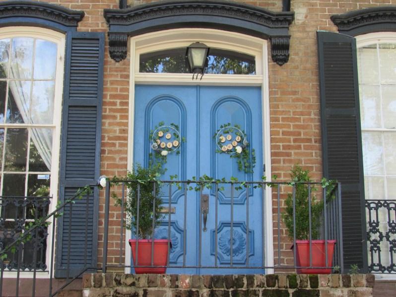 Historic Savannah Door