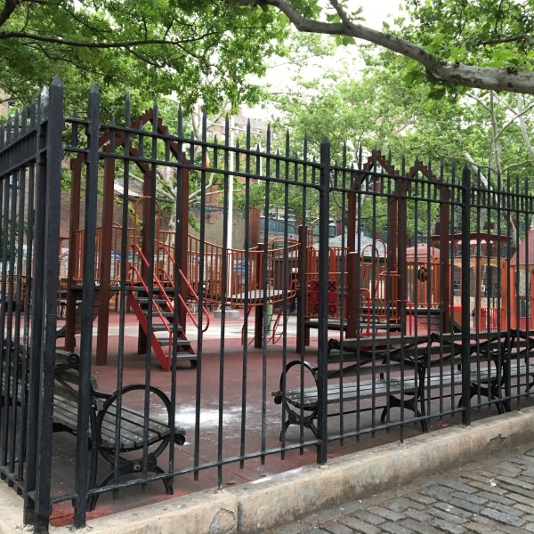 Playground in Manhattan