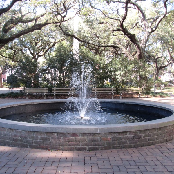 Savannah square fountain