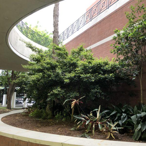 Open air atrium