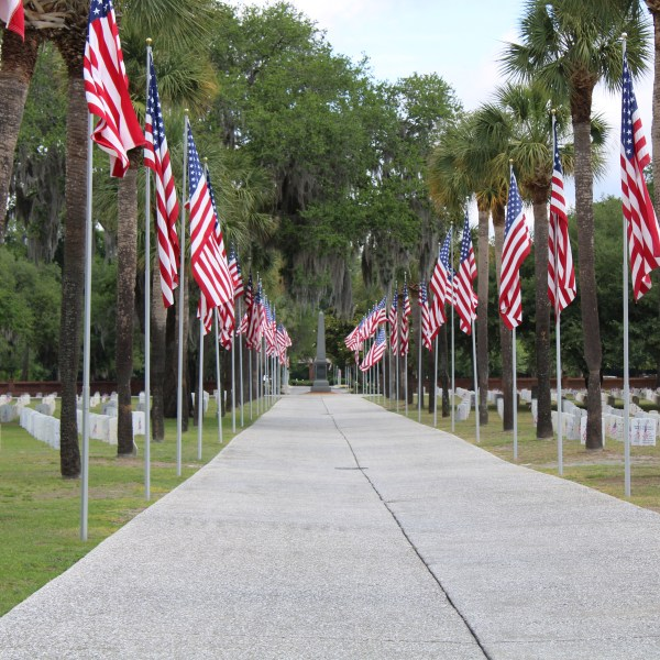 Central Avenue Beaufort National Cemetery