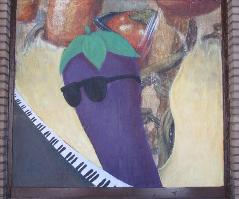 Cool eggplant