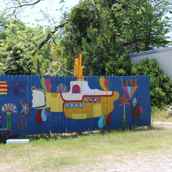 Yellow Submarine Mural