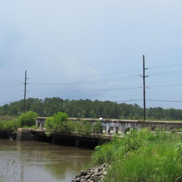 Old Silk Hope Bridge