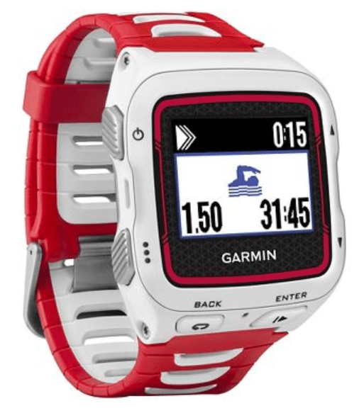 Garmin Forerunner 920XT Triathlon Watch Red White Review