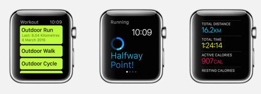 Apple-triathlon