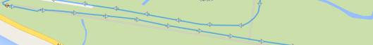 Runsesne - straight line tracking