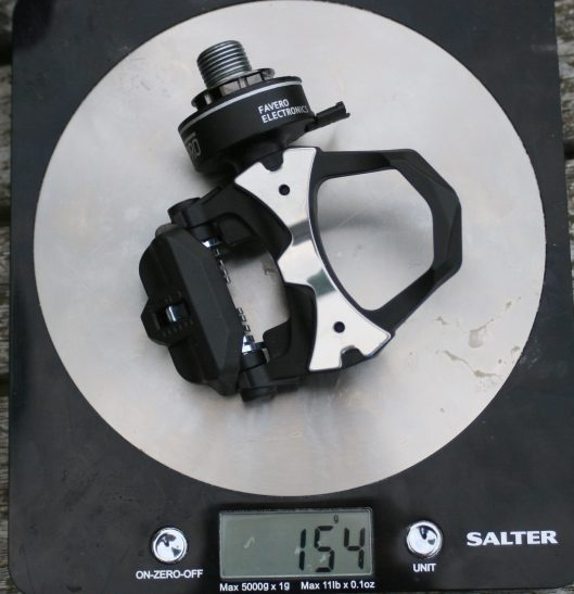 Favero bePRO Pedals - Power Meter Review Weighing
