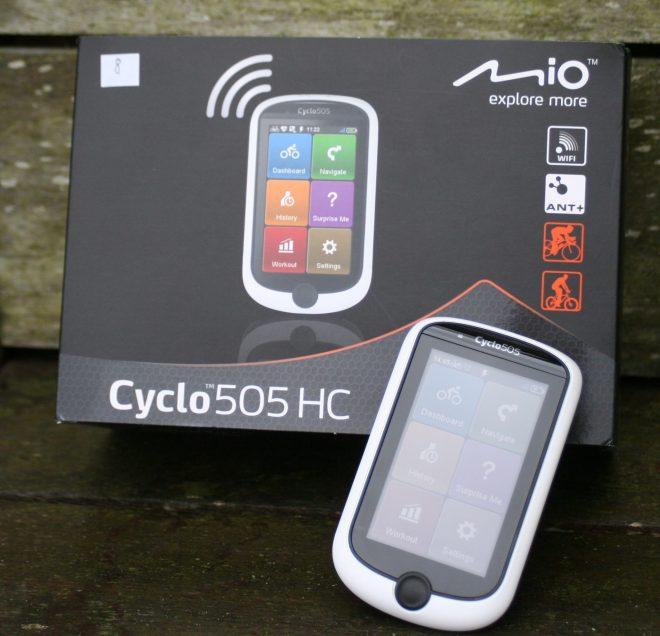 MIO Cyclo 505HC - Cycling Navigation Review