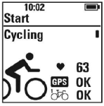 Polar M450 Profile-Bike-Status-Pre-Ride