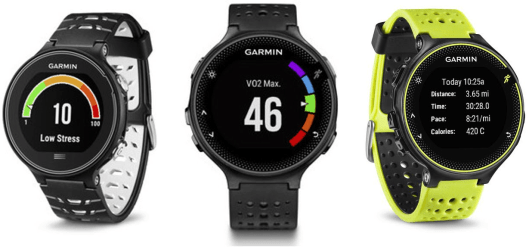 garmin-forerunner-circular-display