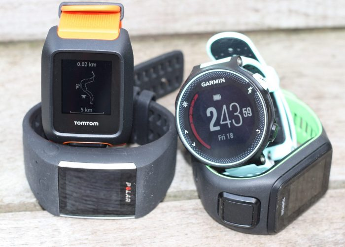TomTom Adventurer Review Spark 3 Runner Garmin 235 polar M600